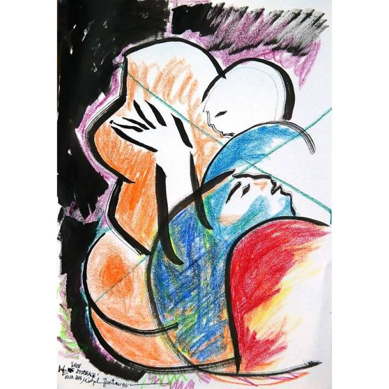 when-we-embrace-painting-by-michel-montecrossa