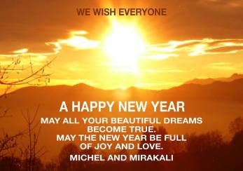 new year greetings michel mirakali 2017