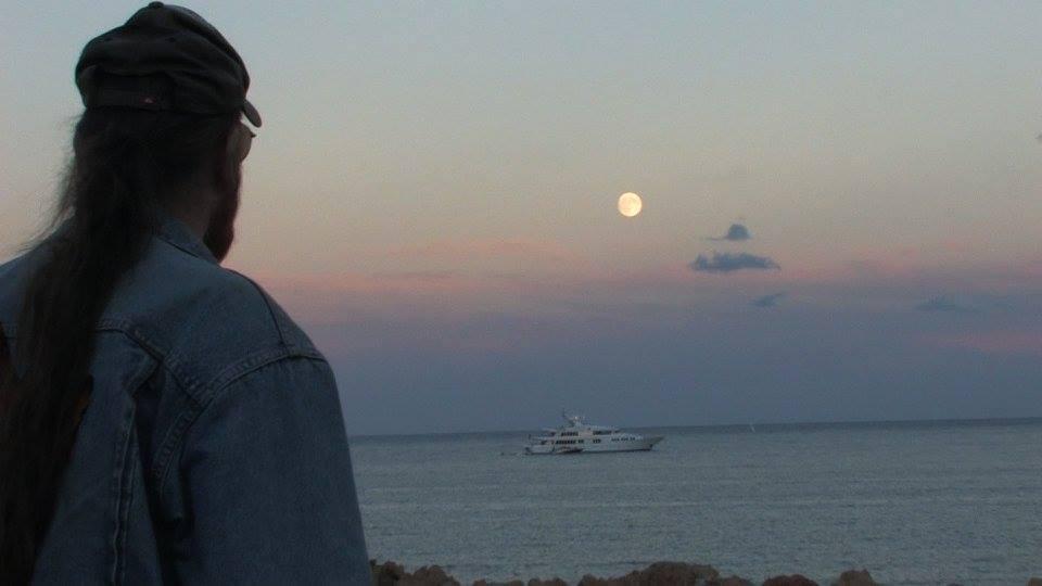 Michel Montecrossa - shore in Antibes, France
