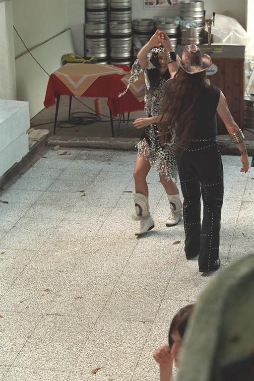 Michel Montecrossa & Mirakali dancing at the Spirit of Woodstock Festival, 4