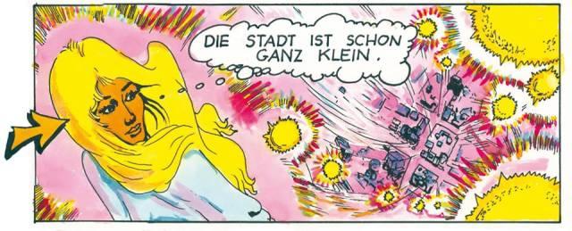 drawing from Michel MontecrossaÄs Cartoon 'Sternschnuppe' (6)