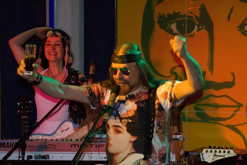 Michel Montecrossa & Mirakali 2008 Spirit of Woodstock Cheering