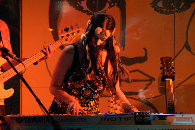 Mirakali on Keyboard - Spirit of Woodstock Festival 2009