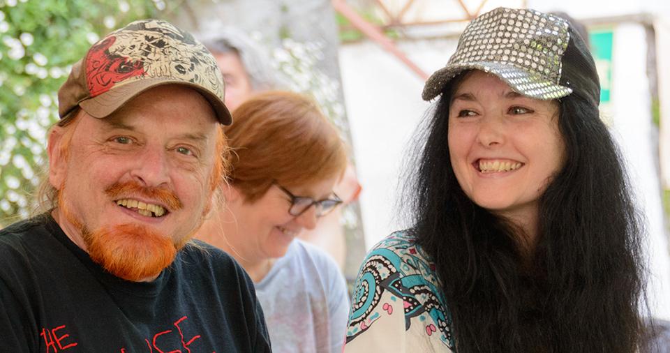 Michel Montecrossa & Mirakali at the Mirapuri World Peace Festival